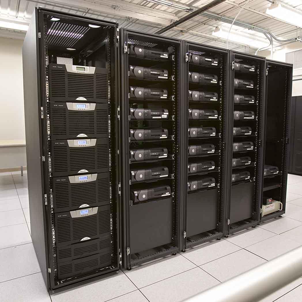 Eaton BladeUPS in server room