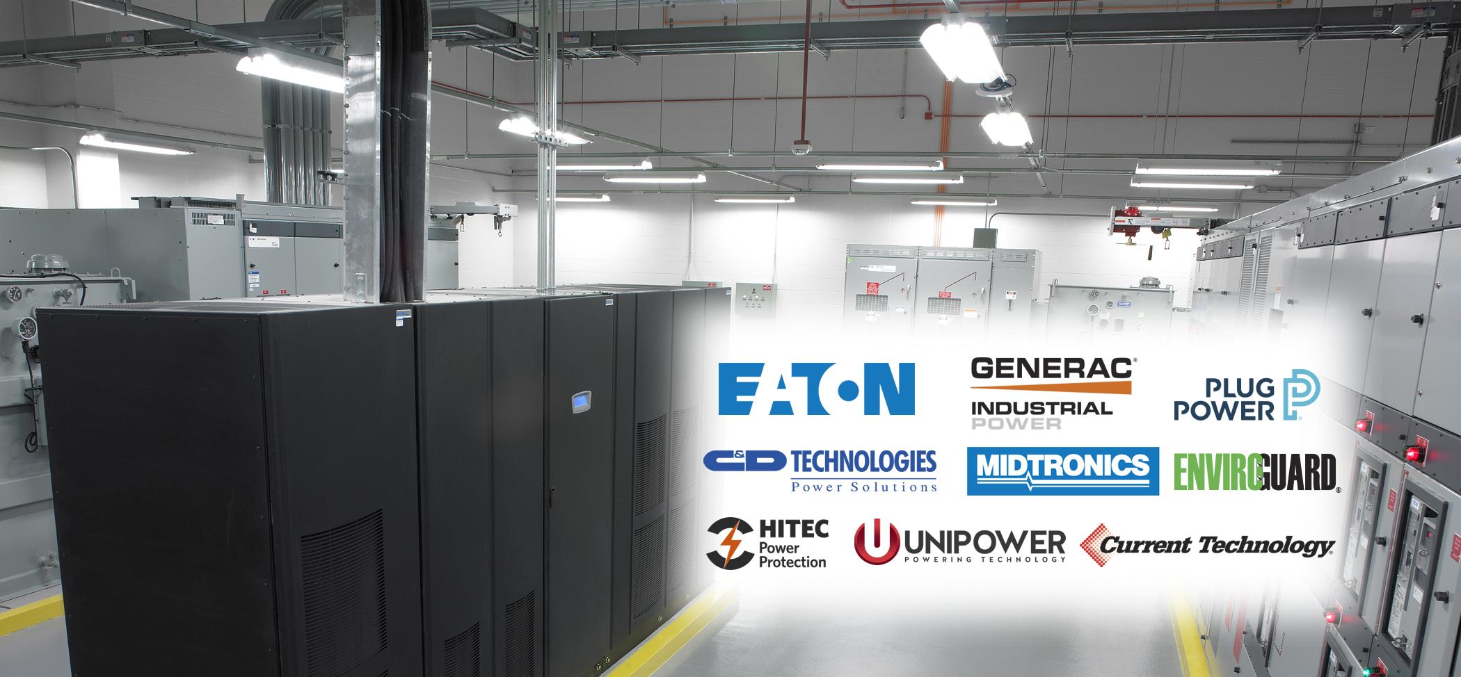 Battery manufacturer logos