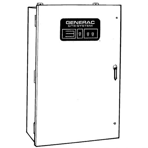 Generac GTS Transfer Switch - HM Cragg