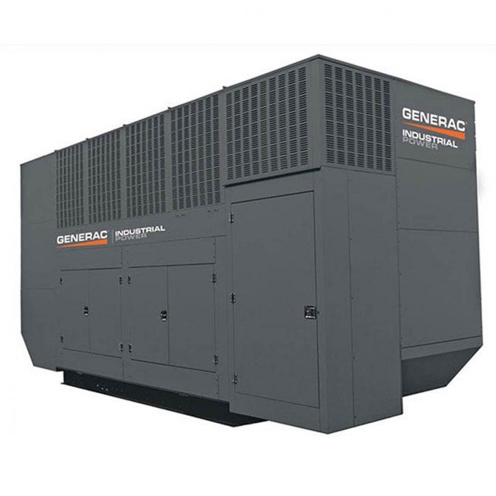 Generac MD1000GEM Diesel Generator Side - HM Cragg