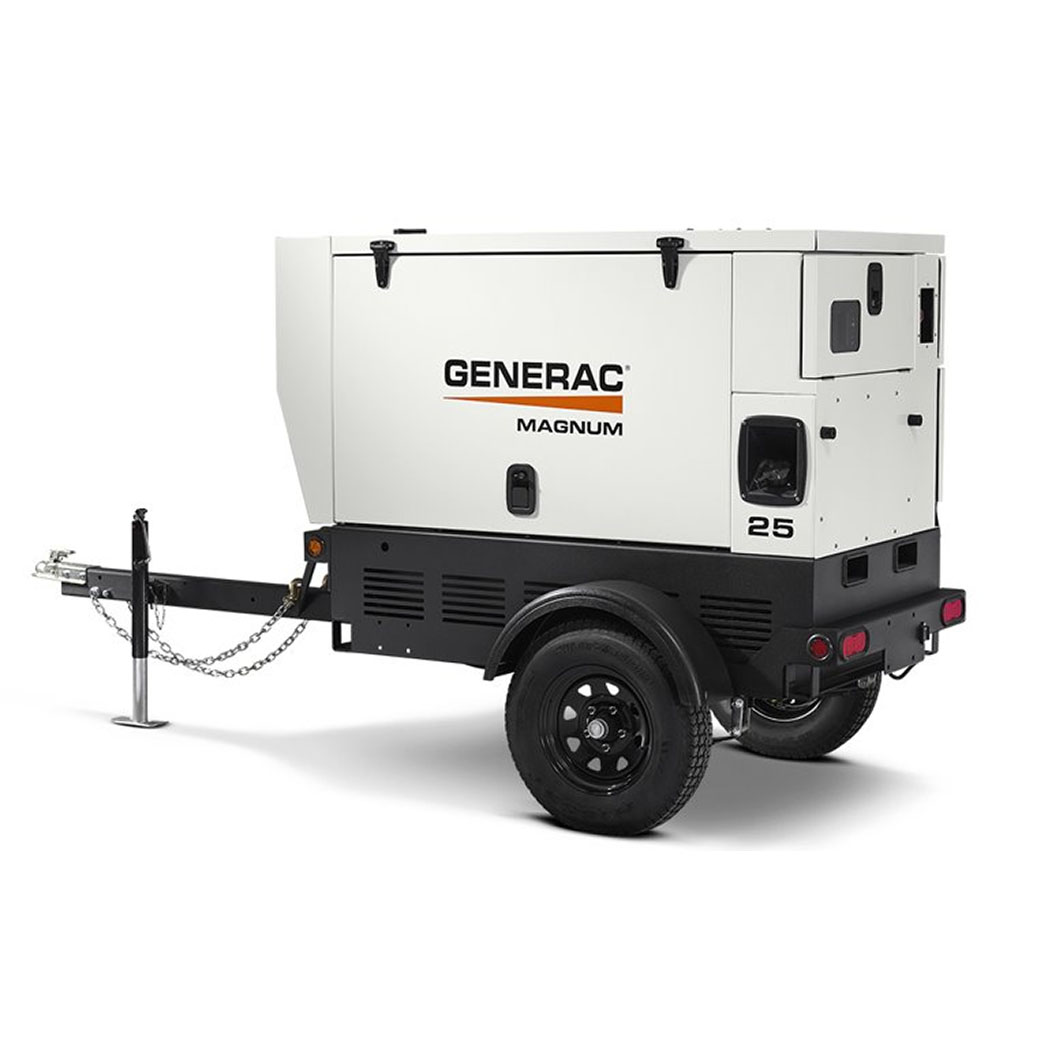 Generac MDG008-250 Mobile Generator 25 - HM Cragg