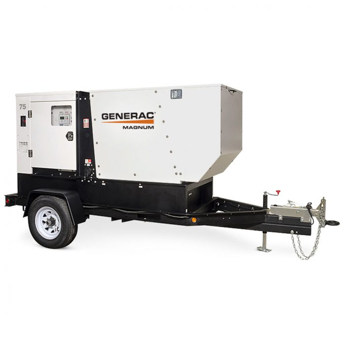 Generac MDG008-250 Mobile Generator 75 - HM Cragg