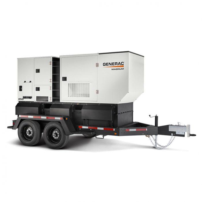 Generac MDG008-250 Mobile Generator 250 - HM Cragg