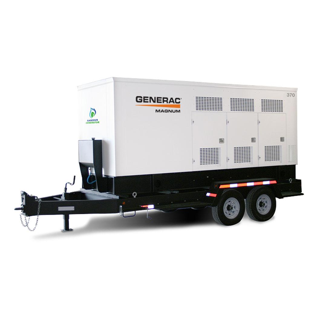 Generac MGG155-350 Mobile Generator 370 - HM Cragg