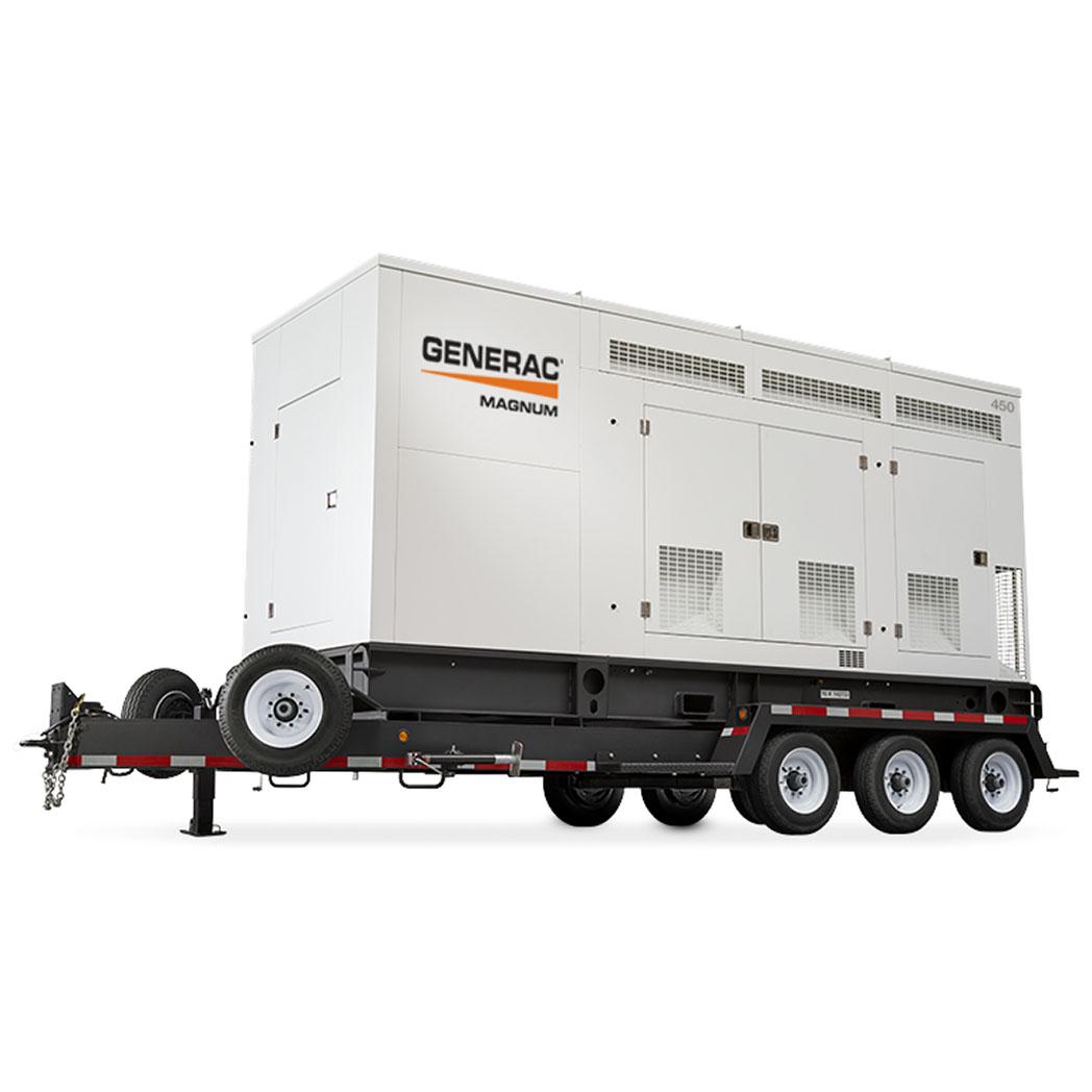 Generac MGG155-350 Mobile Generator 450 - HM Cragg