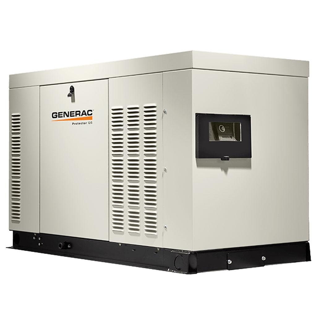 Generac RG022-032 Gaseous Generator Angled - HM Cragg