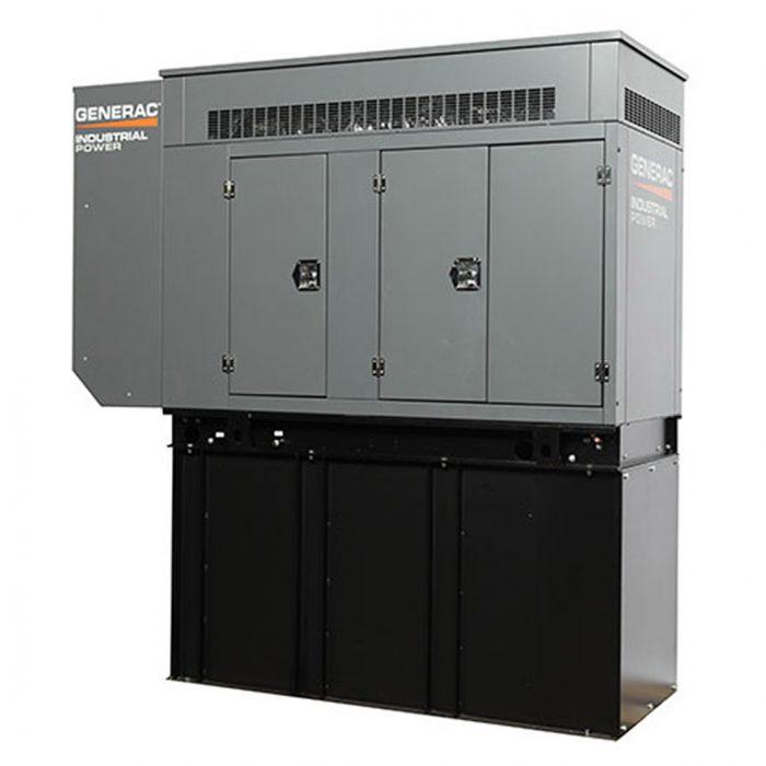 Generac SD060-080 Diesel Generator Front - HM Cragg