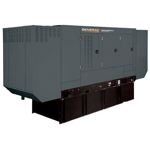 Generac SD100-175 Diesel Generator Front - HM Cragg