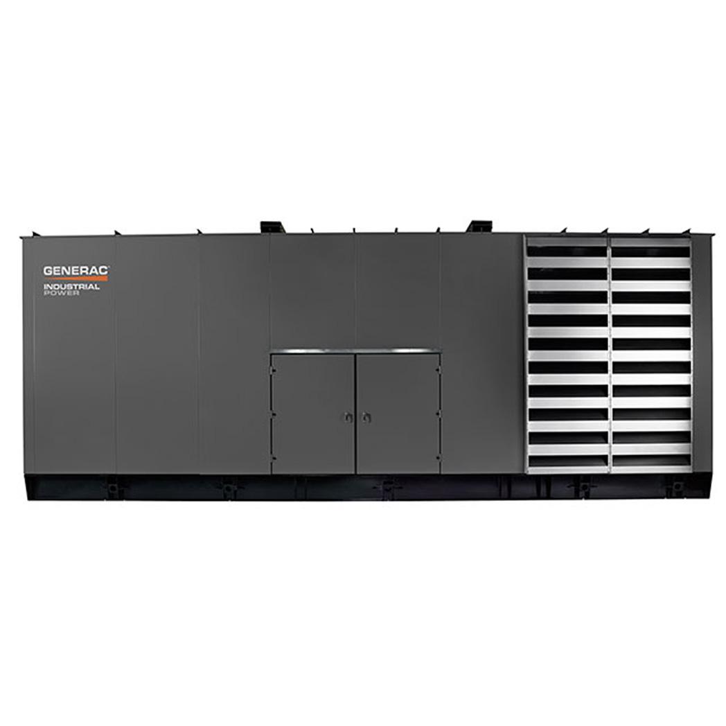 Generac SD1500 Diesel Generator Side - HM Cragg