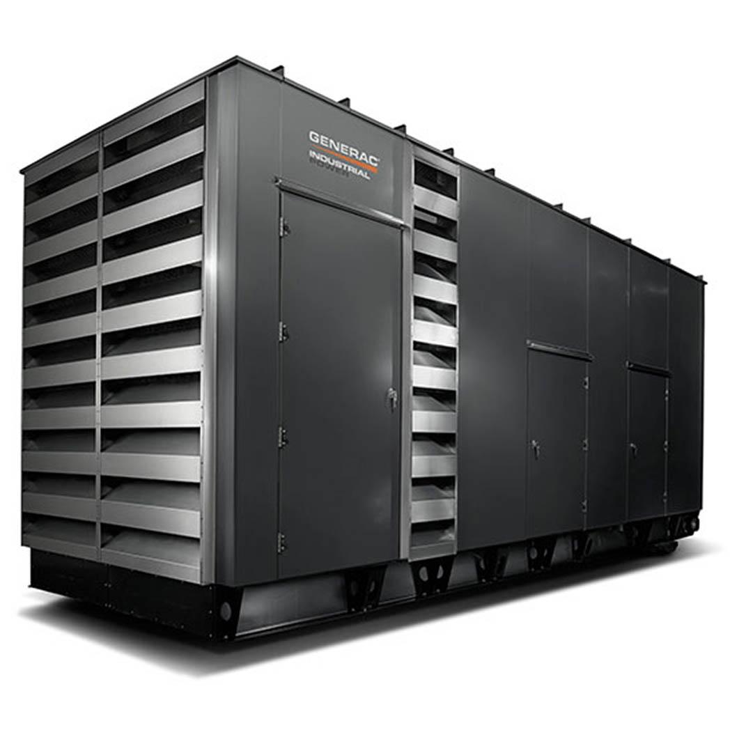 Generac SD750-800 Diesel Generator Side - HM Cragg