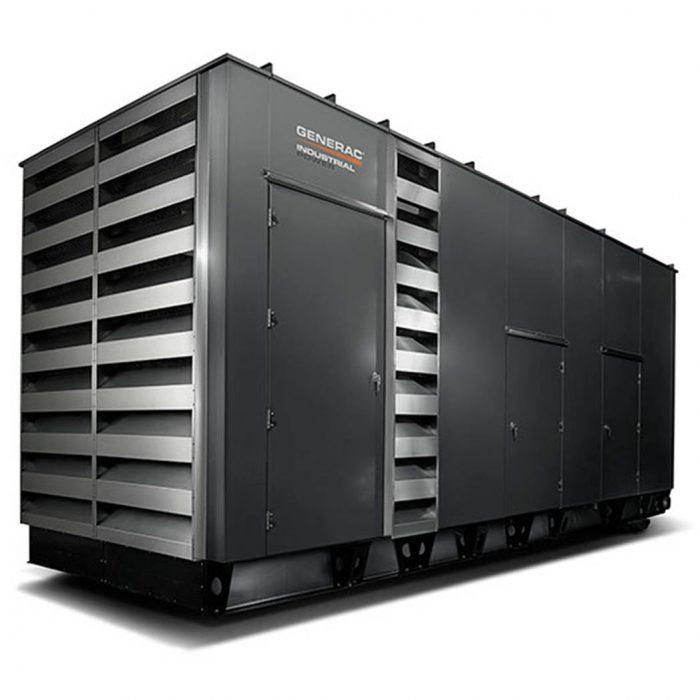 Generac SD900-1000 Diesel Generator Side - HM Cragg