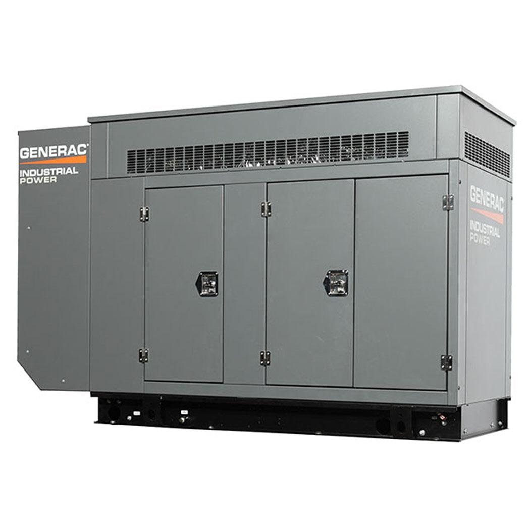 Generac SG080 Gaseous Generator Angled - HM Cragg
