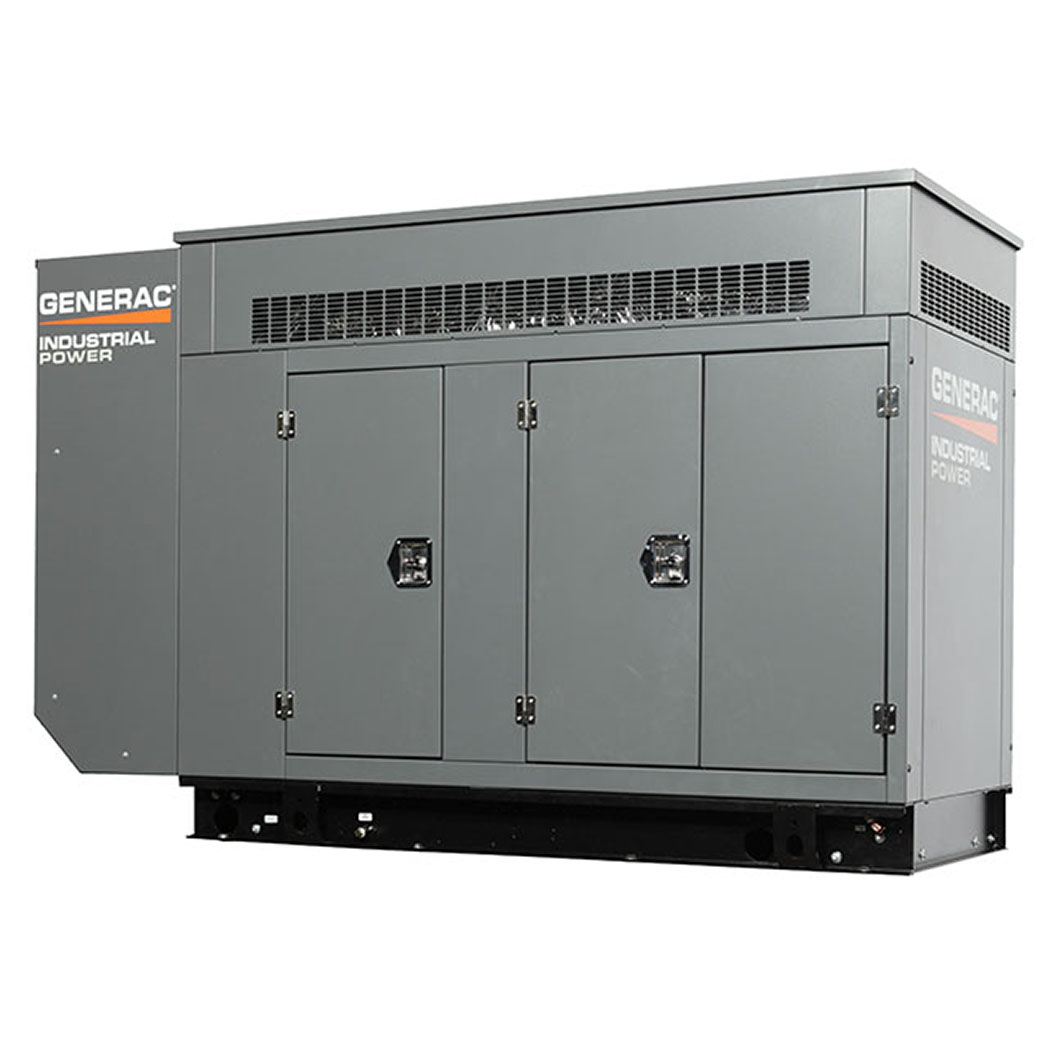 Generac SG130 Gaseous Generator Angled - HM Cragg