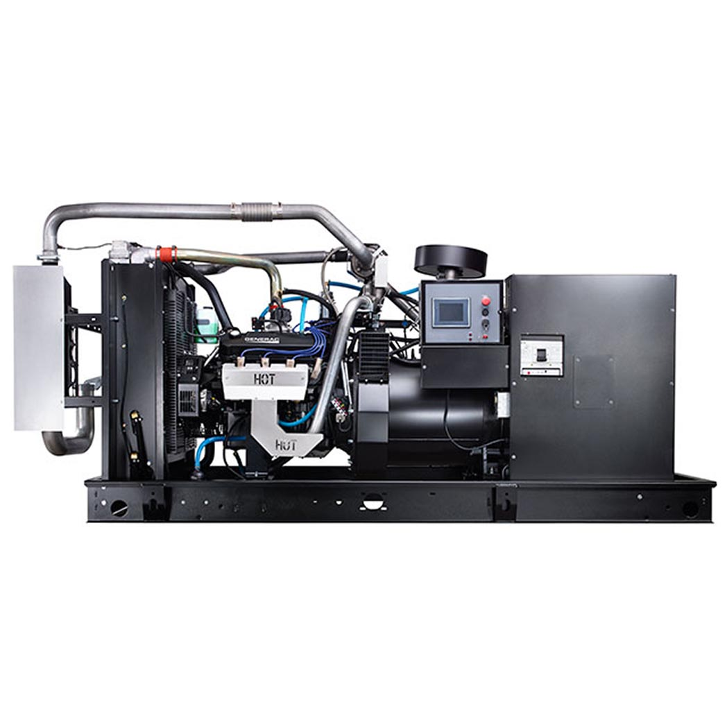 Generac SG130 Gaseous Generator Side - HM Cragg