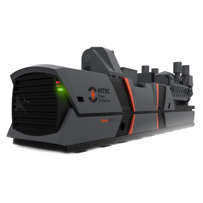 Side view of HITEC PowerPro