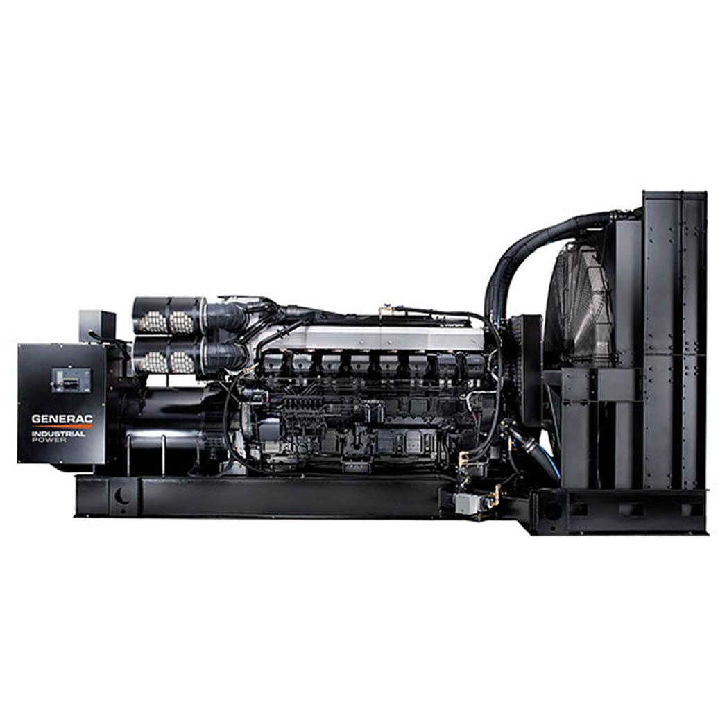 Generac IDLC1250 Diesel Generator Side - HM Cragg