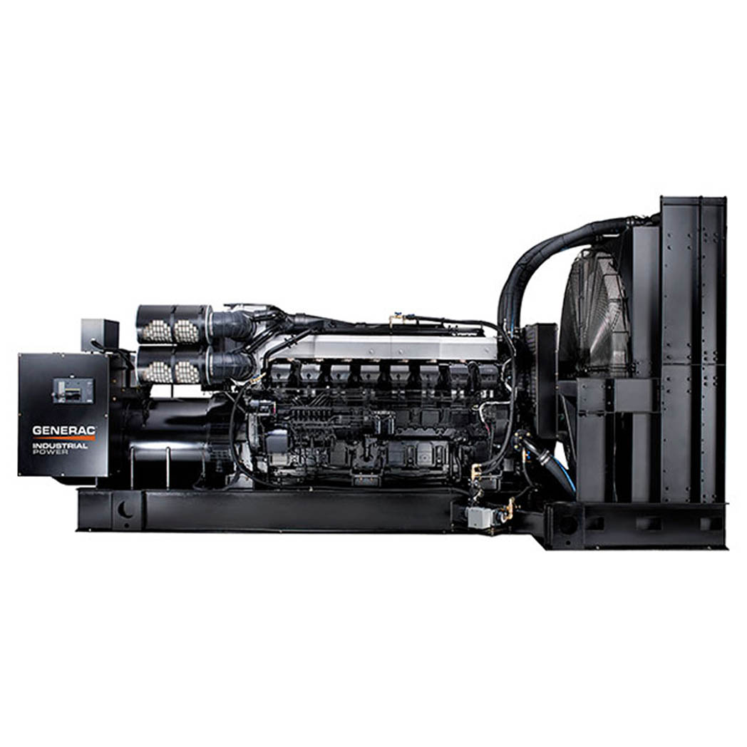 Generac IDLC2000 Diesel Generator Side - HM Cragg