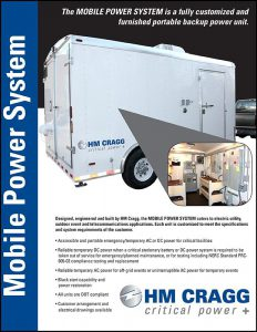 HM Cragg Portable Power System Brochure