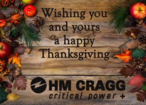 Happy Thanksgiving from HM Cragg