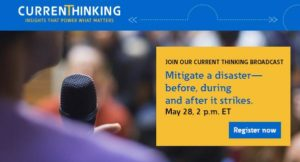 Eaton Current Thinking Broadcast: Mitigate a Disaster