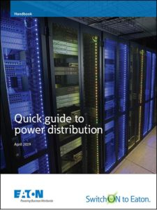 Eaton's Updated Quick Guide to Power Distribution PDU Handbook