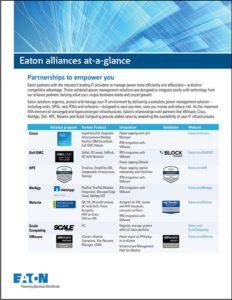 Eaton Alliances