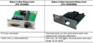 Eaton EOL Relay Card