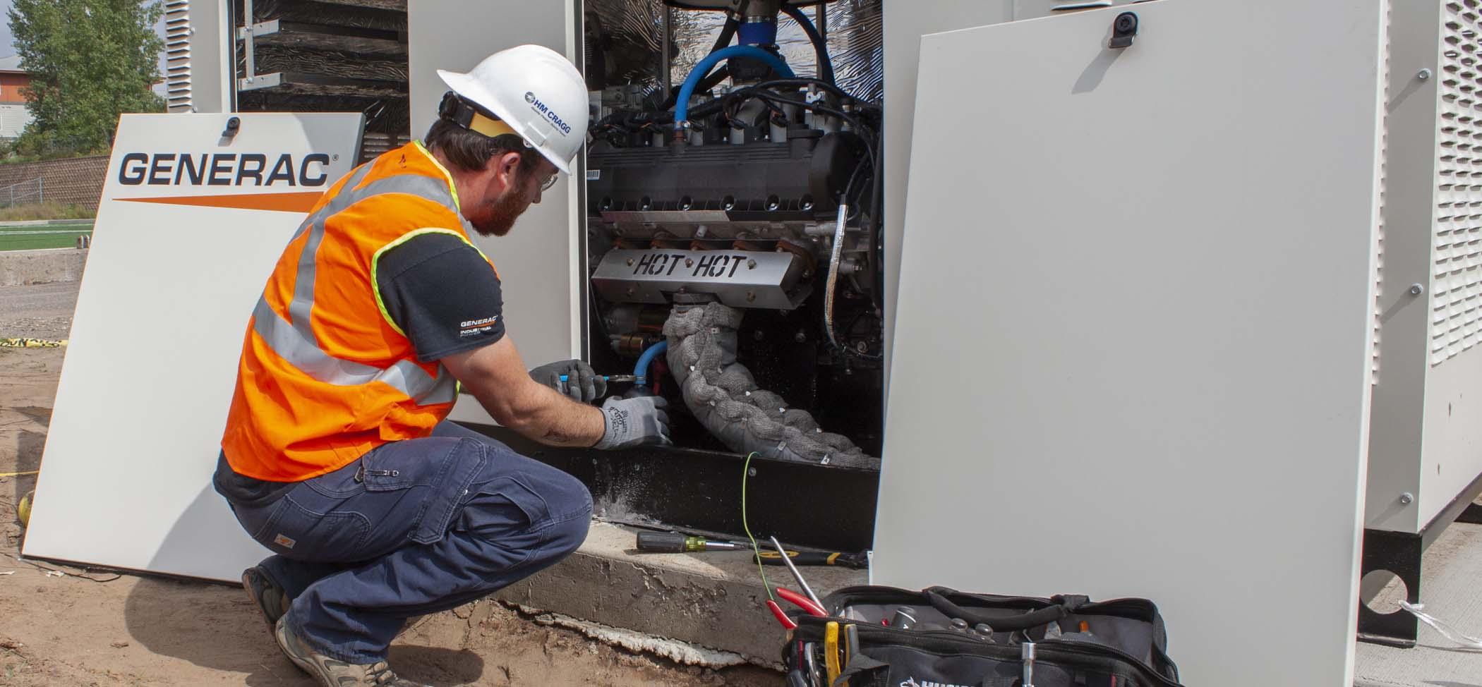HM Cragg Generator Service Image