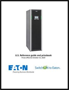 Eaton's New Reference Guide and Pricebook