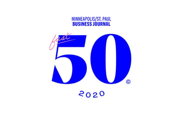 Minneapolis St. Paul Business Journal Fast 50 2020 logo