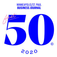Minneapolis St. Paul Business Journal Fast 50 2020 logo