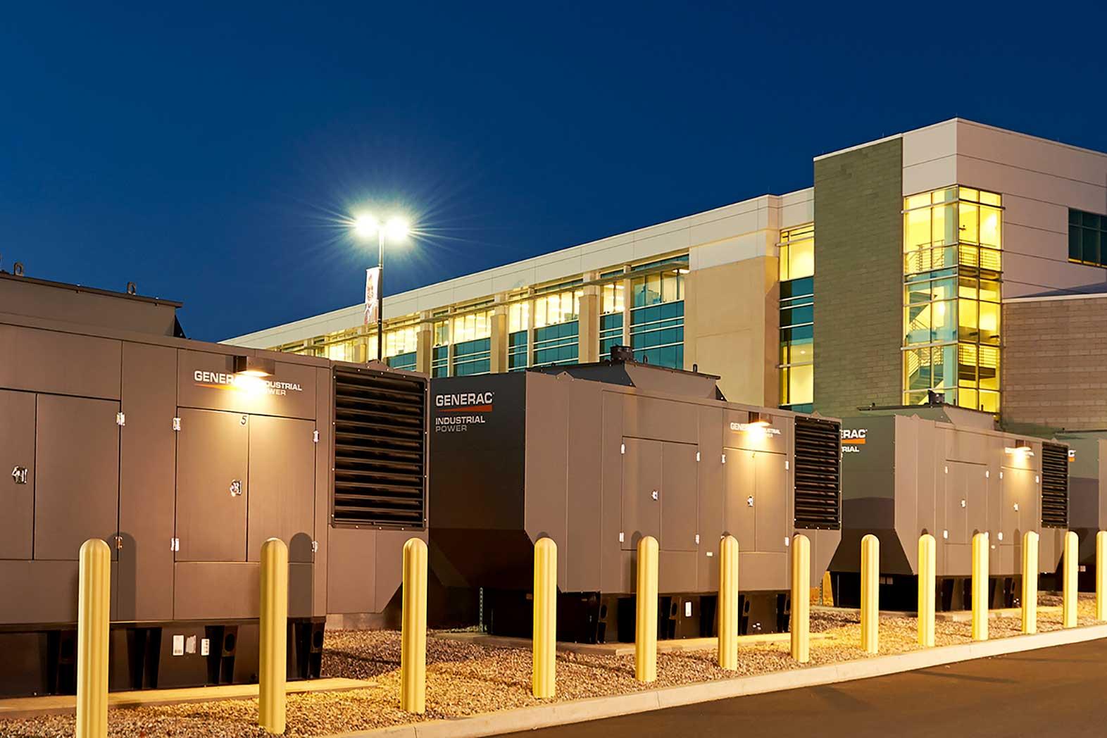 Generac Generator, Industrial Bi-Fuel, HM Cragg