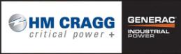 HM Cragg and Generac Industrial Generator lockup logo