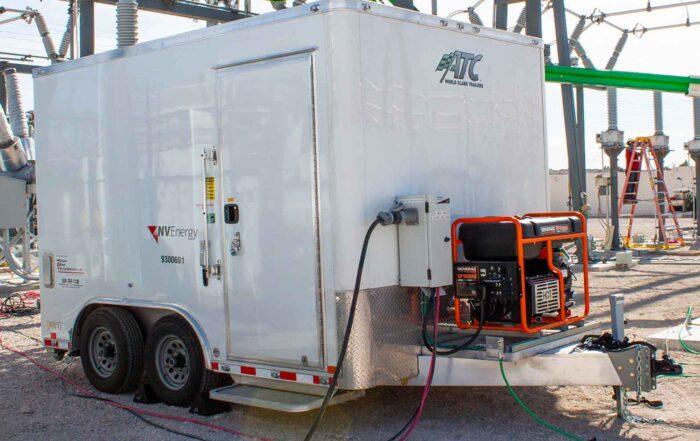 Mobile Battery Power, Mobile DC Trailer, HM Cragg