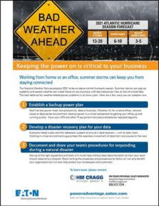Eaton's Severe Weather Preparation Flyer